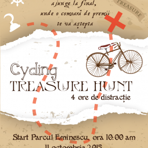 Treasure Hunt – pe biciclete
