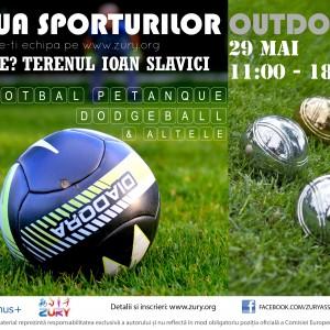 Ziua Sporturilor Outdoor la Arad – 29 mai 2016